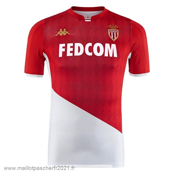 Domicile Maillot AS Monaco 2019 2020 Rojo Blanc Site Maillot De Foot