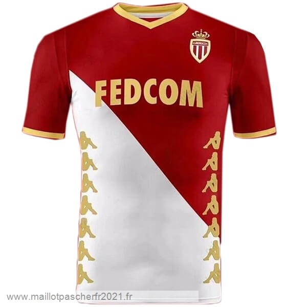 Domicile Maillot AS Monaco 2019 2020 Rouge Blanc Site Maillot De Foot