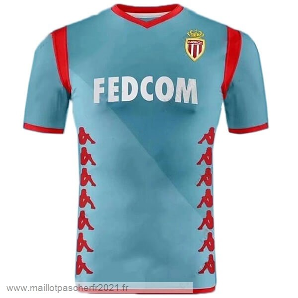 Third Maillot AS Monaco 2019 2020 Bleu Clair Site Maillot De Foot