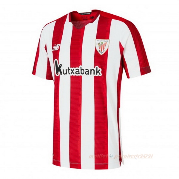 Domicile Maillot Athletic Bilbao 2020 2021 Rouge Blanc Site Maillot De Foot
