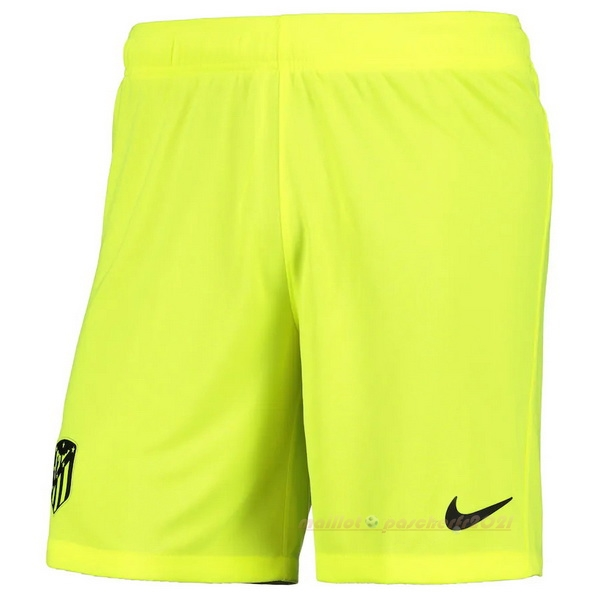 Third Pantalon Atlético Madrid 2020 2021 Vert Fluorescent Site Maillot De Foot