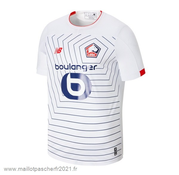 Third Maillot Lille 2019 2020 Blanc Site Maillot De Foot