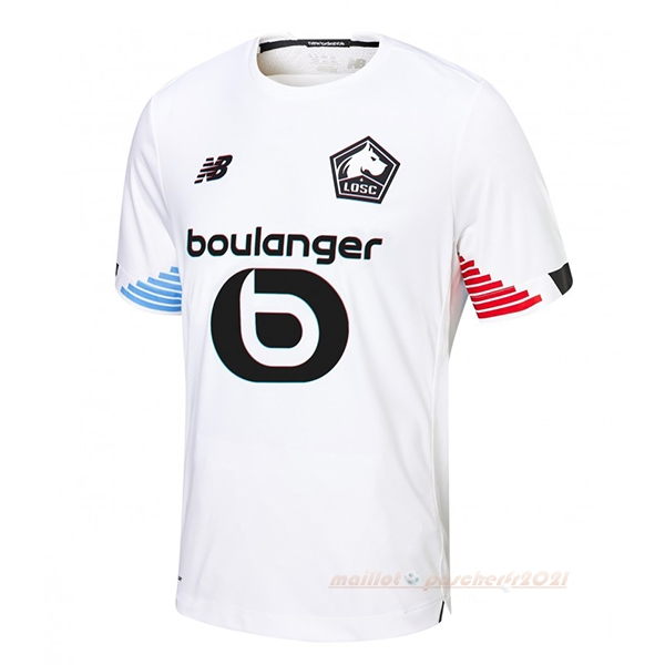 Third Maillot Lille 2020 2021 Blanc Site Maillot De Foot