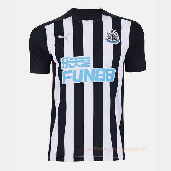 Domicile Maillot Newcastle United 2020 2021 Noir Site Maillot De Foot