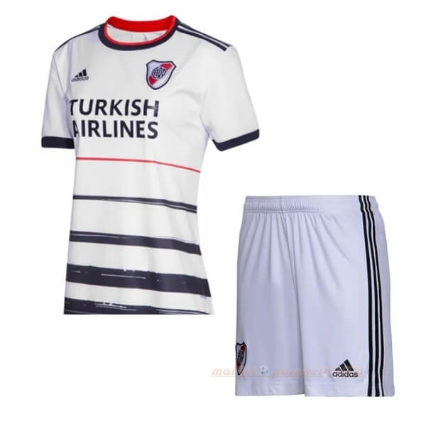 Third Ensemble Enfant River Plate 2019 2020 Blanc Site Maillot De Foot