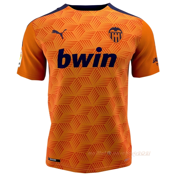 Exterieur Maillot Valencia 2020 2021 Orange Site Maillot De Foot
