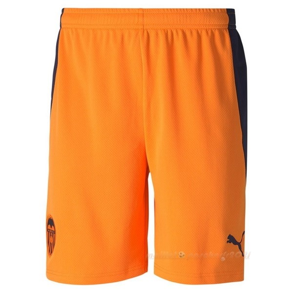 Segunda Pantalones Valencia 2020 2021 Orange Site Maillot De Foot